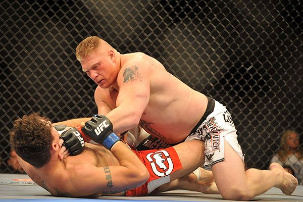 Brock Lesnar Confirms Staying With WWE, Ends Career As MMAFighter