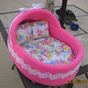 Fully Custom Dog Bassinet Moses Baskets Beds, sweet!