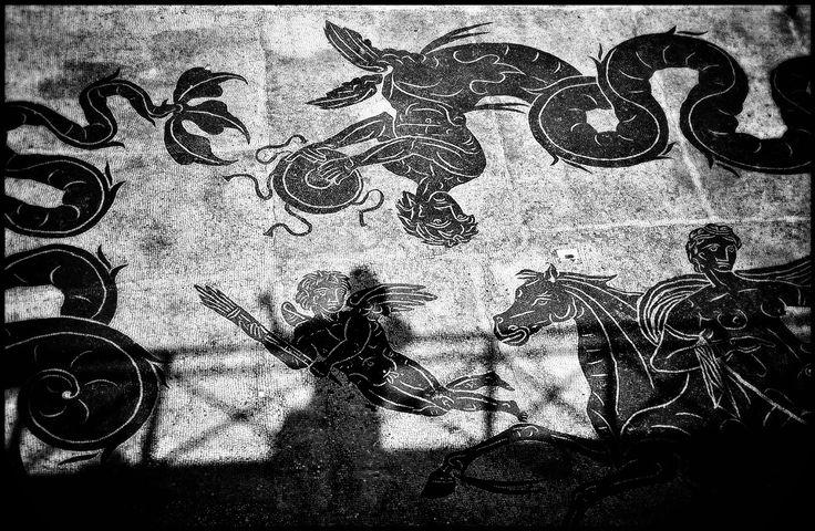 Mosaics around the Baths of Neptune