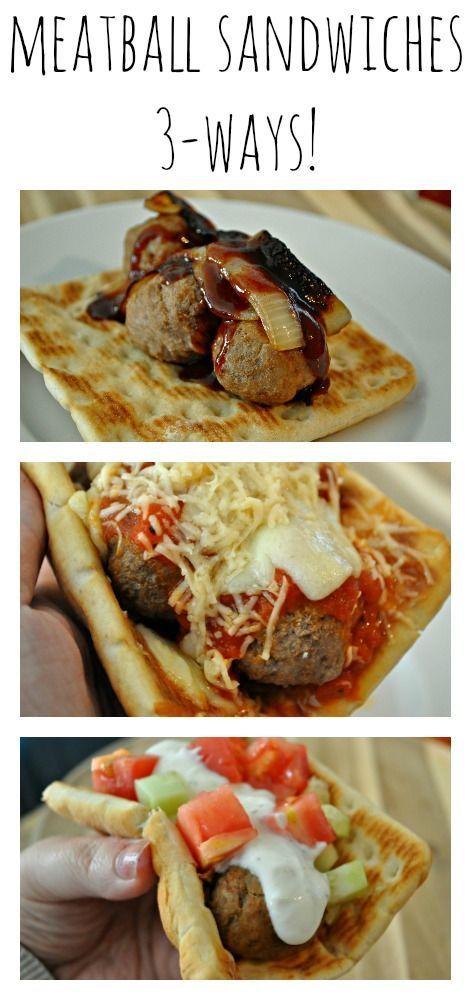 3 Super Easy Meatball Sandwich Recipes Featuring Ikea Meatballs