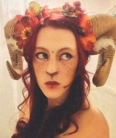 DIY: Pan's-Labyrinth-inspired PAN - SATYR - FAUN Halloween costume | Cosplay and Makeup by Adrian Bardue