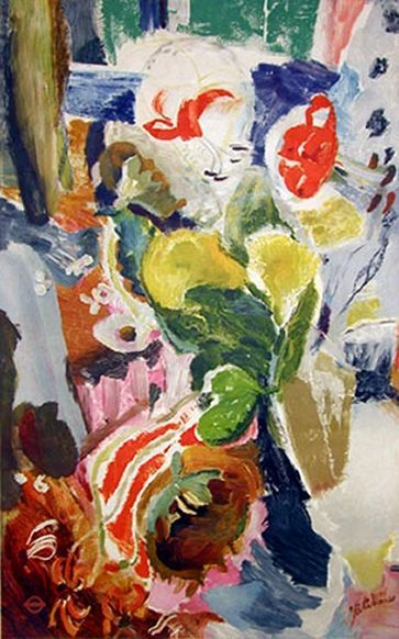 Ivon Hitchens, Unknown on ArtStack #ivon-hitchens #art