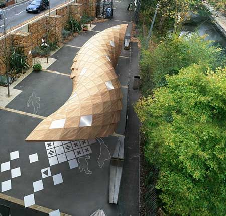 art-fund-pavilion-shortlist-inedit-france-exterior  TEMPORARY STRUCTURE #architecture #micro #microarchitecture #temporary #temporarystructures #structures #pavillon #wood