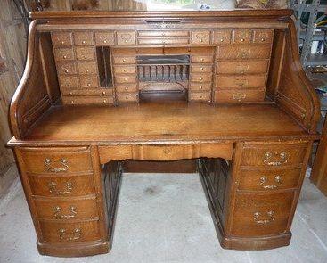 Antique Roll Top Desk Antique Oak S Roll Top Desk Moon