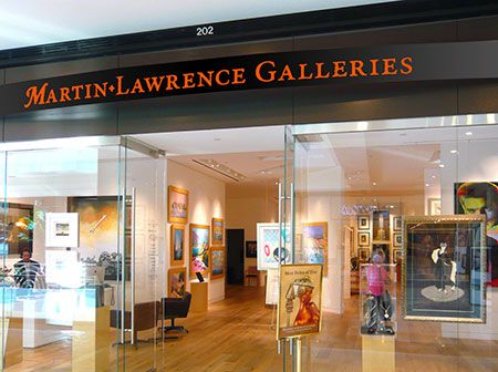 Martin Lawrence Galleries, Costa Mesa South Coast Plaza 3333 Bear Street, Costa Mesa, California (949) 759-0134 southcoast@martinlawrence.com HOURS Monday–Friday: 10:00 AM – 9:00 PM Saturday: 10:00 AM – 8:00 PM Sunday: 11:00 AM – 6:30 PM