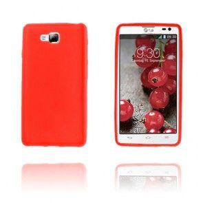 Soft Shell (Punainen) LG Optimus L9 II Suojakuori