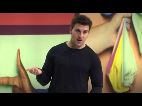 """""""Airbnb Hosts are heroes"""" - A keynote from Brian Chesky"""