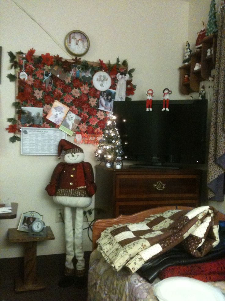 Christmas Decorations For Small Nursing Home Decorating