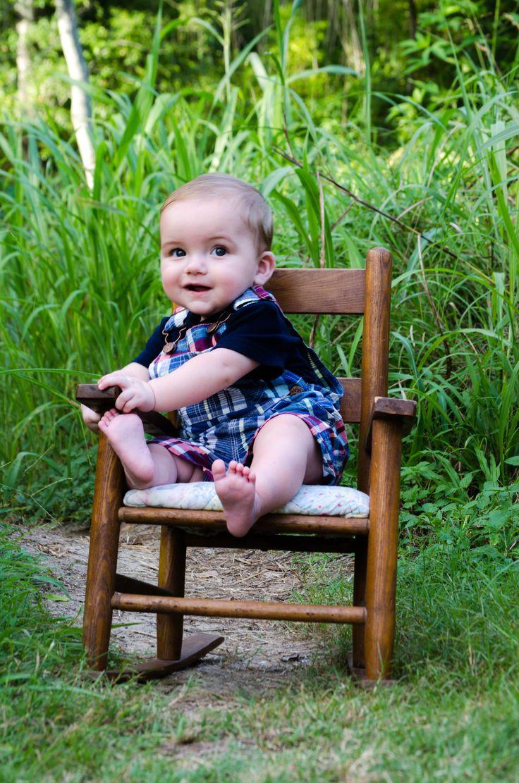 Sweet boy - Gavin's six month photos