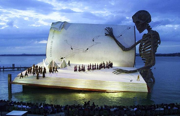 Bregenz' Festival (Floating Stage), Austria