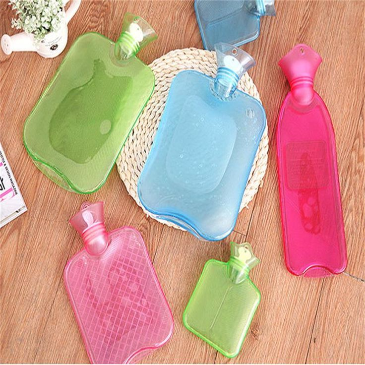 PVChot water bottle Hand Po charge injection trumpet tuba thick high-density non-rubber hot water bottle with warm water massage