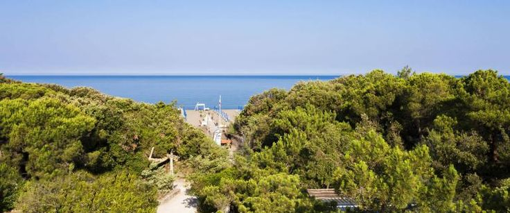 Camping Toscane aan zee Etruria, direct aan het strand van Marina di Castagneto Carducci