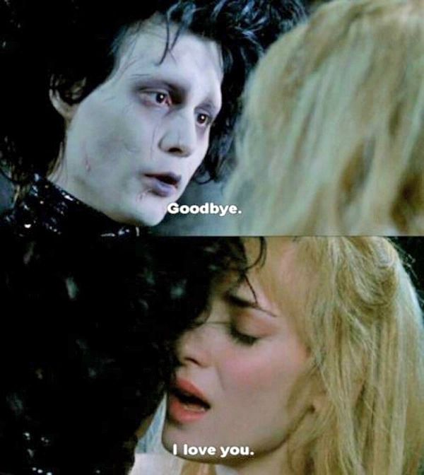 19 Reasons Tim Burton Is The King Of Romance. Finally! I thought I was the only one who thought so.