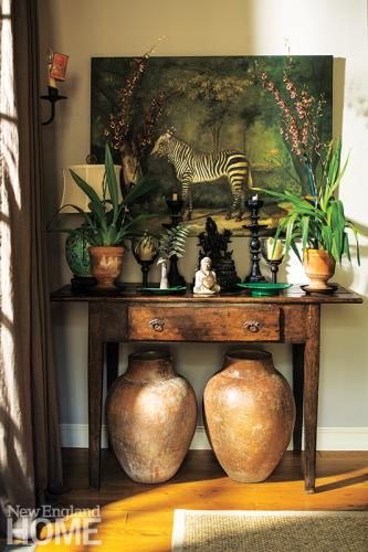 Tropical-chic Design - Vignette by J. Seitz & Company