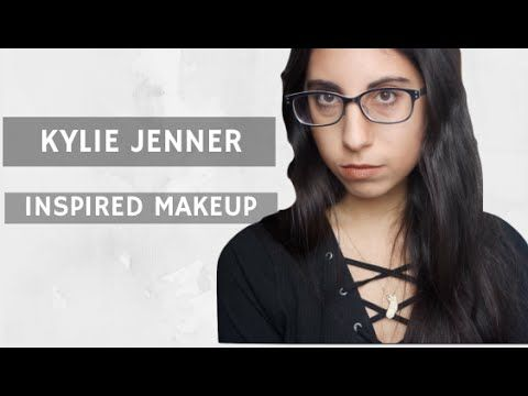 Kylie Jenner Inspired Makeup | Trucco Kylie Jenner - YouTube