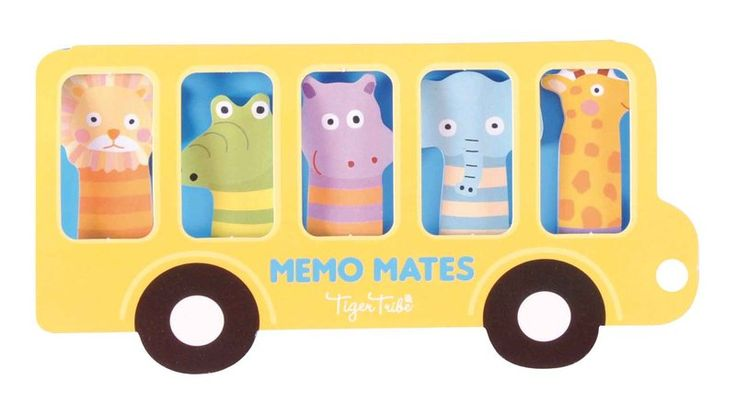 Create a picture, use as a bookmark, write a cheeky note or add to party favour bags at your next little ones birthday party with these awesome little Memo Mates - Zoo by Tiger Tribe! #littlebooteekau #kidsnotes #zoo #creativekids #partyfavours