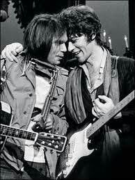 Neil Young and Robbie Robertson