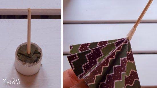 Mar&Vi Creative Studio - España: Navidad DIY: Árboles de Navidad de papel