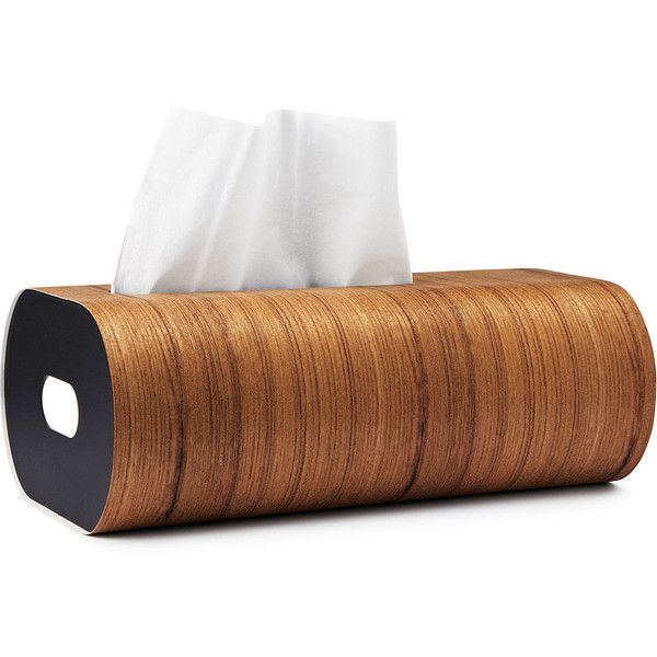 Wooden Tissue Box ($50) ❤ liked on Polyvore featuring home, bed & bath, bath, bath accessories, decor, contemporary bathroom accessories, wooden tissue box, tissue box, wooden tissue box holder and tissue box holder