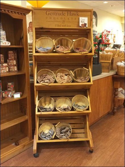 Gertrude Hawk 174 Rustic Bushel Bulk Basket Display Candy