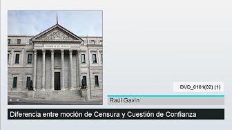 cuestion de confianza y mocion de censura - YouTube Para el tema 2: la Administración autonómica y local.