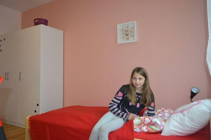 Kolorowe sny na nowym łóżku :)
