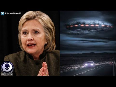 LEAKED Hillary Clinton Emails Proof Of Alien Coverup!? 10/8/16 - YouTube