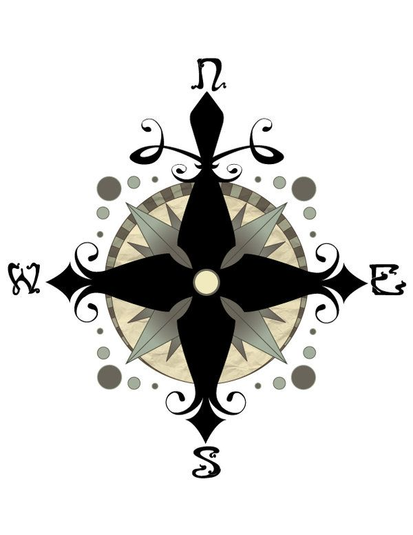 how to draw a pentagram with a compass