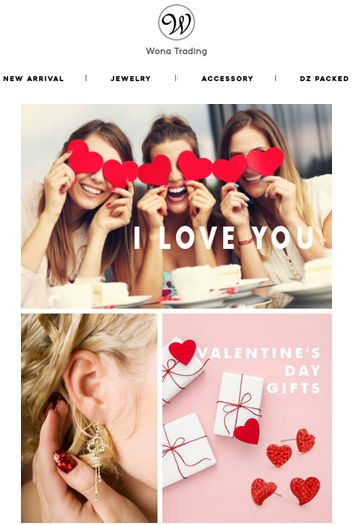 Shop Valentine's Day Items and Show Your Love♡♡ #wholesale #wholesalejewelry #fashionjewelry #fashion #fashionista #valentinesday #valentine #wonatrading