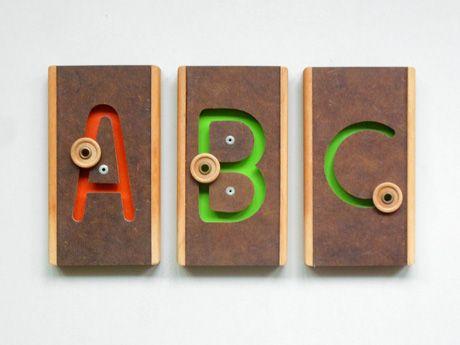 Wood Teaching Letters