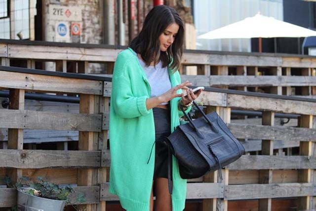 Nice cardigan.: Mint Green, Fashion Style, Cardigans Sweaters Jumpers, Celine Bag, Green Cardigan, Bags, Jumper Mintgreen