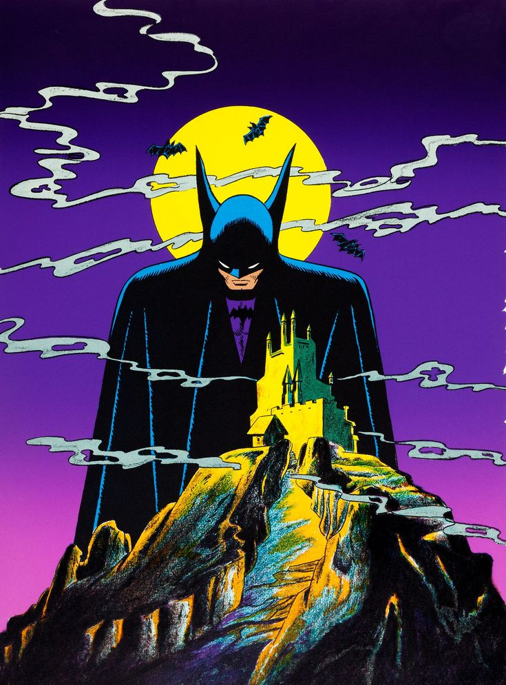 Vintage Batman art by Bob Kane!