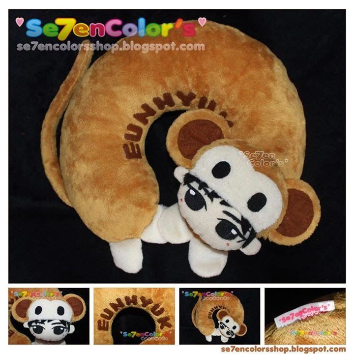 EUNHYUK of SUPER JUNIOR Neck Pillow - Monkey Ver.
