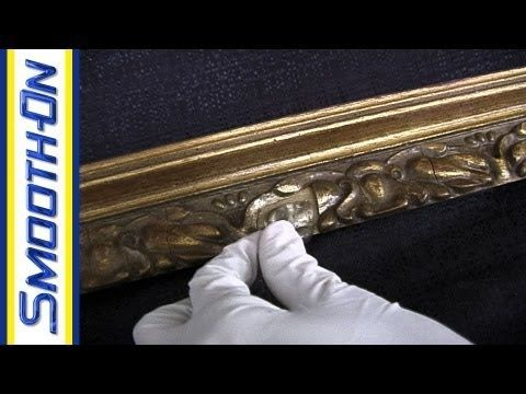 How to repair an antique picture frame