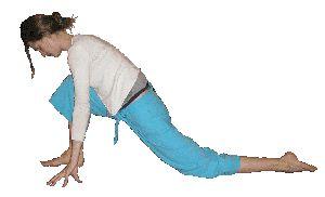 dragon pose and variations yin series  yoga  yin yoga