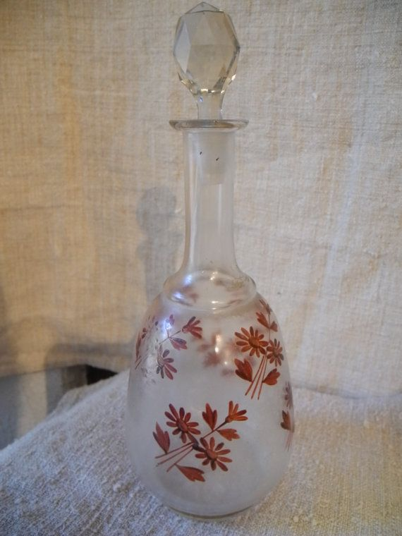 Magnifique carafe ancienne en verre ou cristal par MyFrenchHome