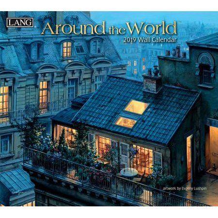 Around the World 2019 14×12.5 Wall Calendar (Other)