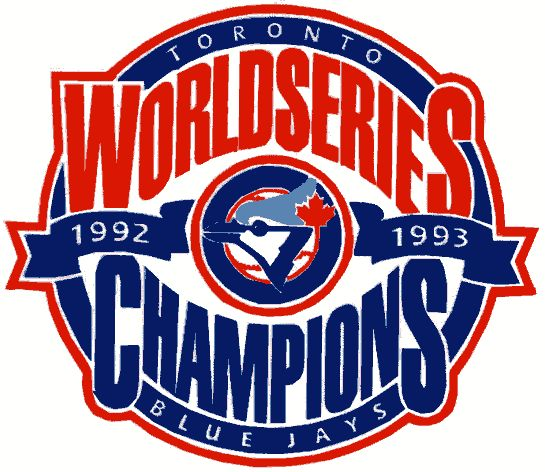 World Series Logo - Toronto Blue Jays 1992 & 1993