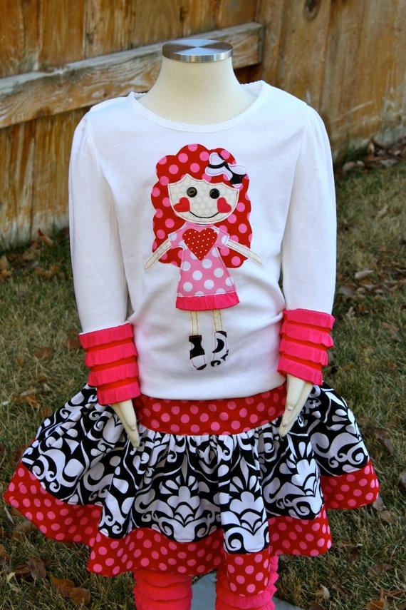 Valentina Friend Shirt and Skirt Set ~ adorable!