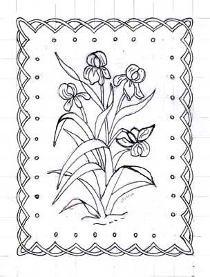 2057 best Pergamano Patterns images on Pinterest