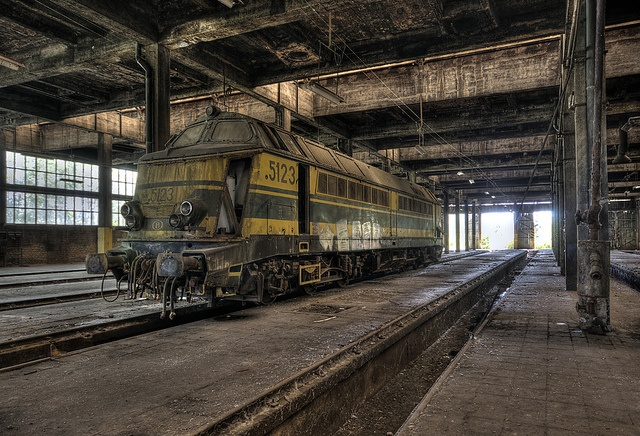 SNCB Train yard by Me.Two, via Flickr