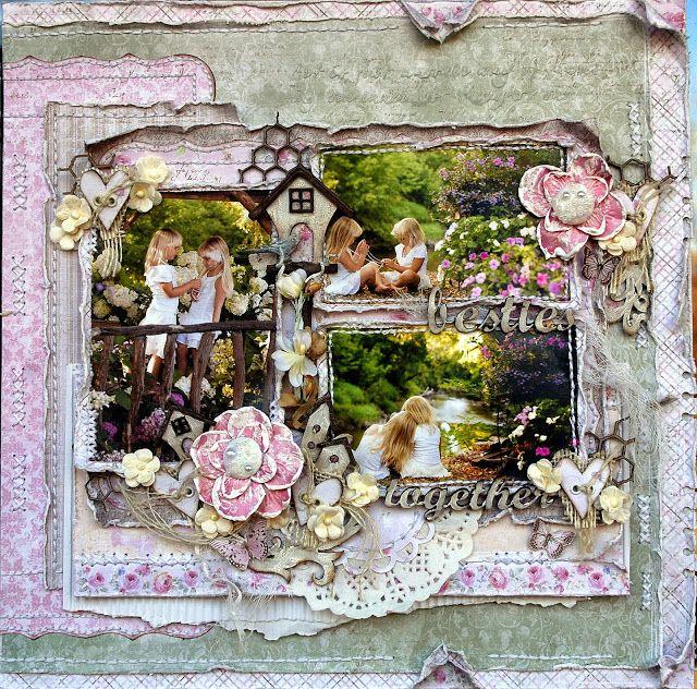 Life's little Embellishments: Friends ****Maja Design****