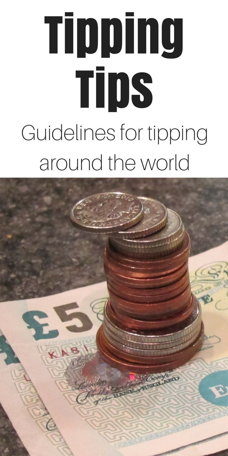 Here's a comprehensive guide on how to tip around the world. Click here to see it. via @protravelblog