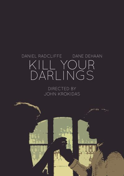 Kill Your Darlings Art Print Story about Lucien Carr and writer/poet Allen Ginsberg falling in love and the conflicts that come between them