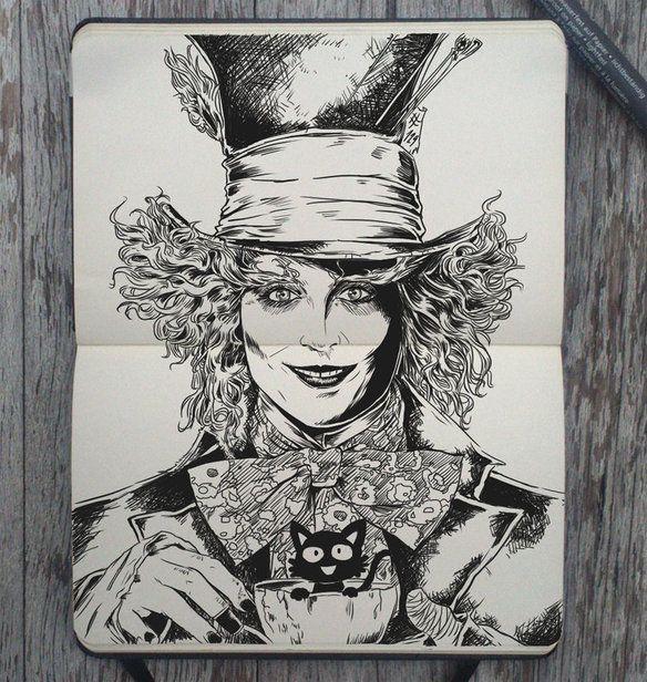 Ha creado un dibujo por día y estas son sus 365 obras de arte — cribeo