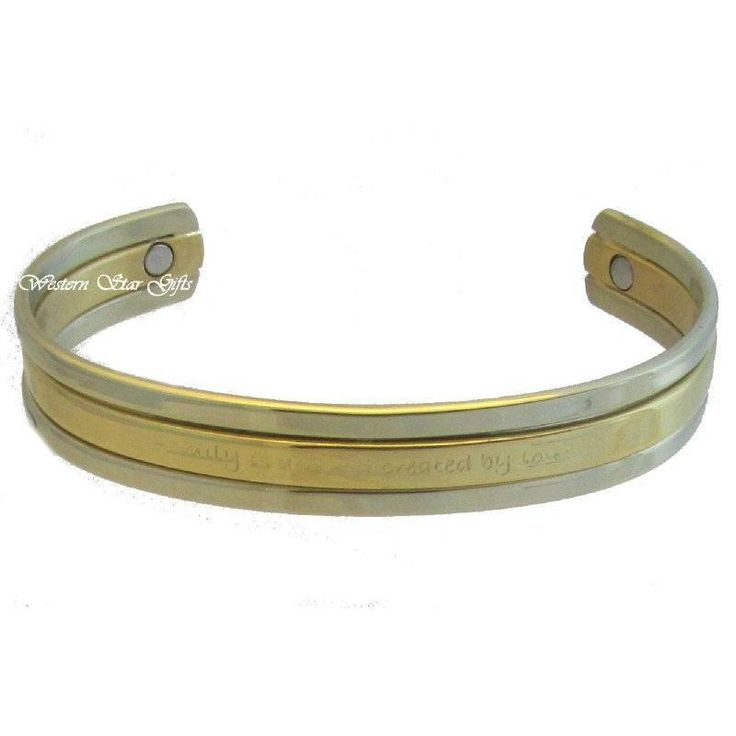 """""""family is a world created by love"""" ...Magnetic Message Bracelet"""
