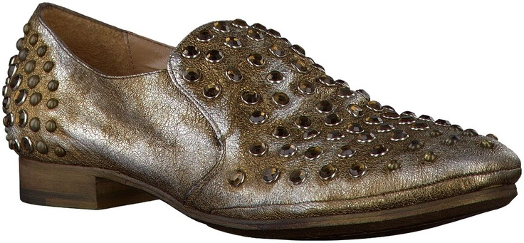 Gouden STRATEGIA ballerinas  loafers A1028