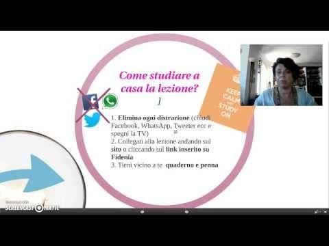 Il metodo di studio in una classe capovolta - YouTube