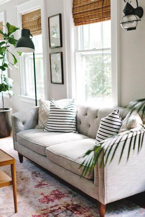 White Comfy Living Room Interiordesignlivingroom Comfy Living