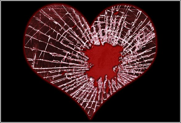 """Why even try to put the pieces of my heart back together, only to be constantly reminded of the absolute worst moment of my life - by every single fracture line that points to the day she referred to my attempts to demonstrate my happiness as """"disturbing""""?"""